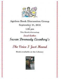 Ageless Book Club9-16