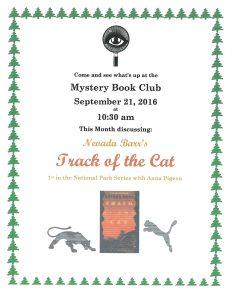 Mystery Book club9-16
